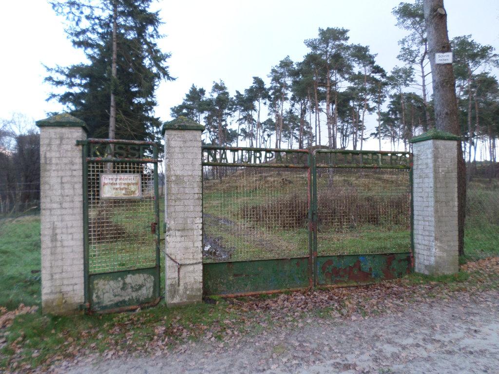 Beispiel für einen verlassenen Park