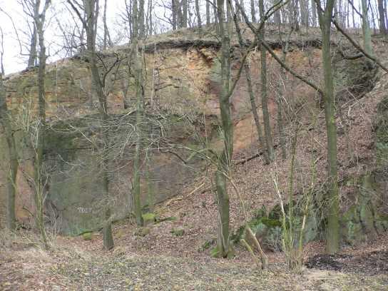 Steinbruch bei Meinitz