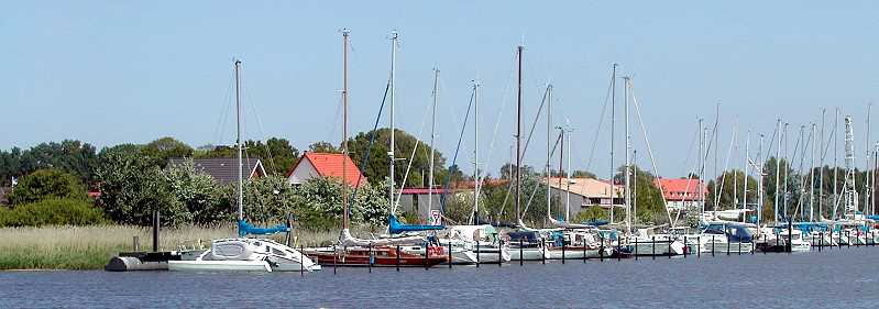 Seglerhafen am Ryck