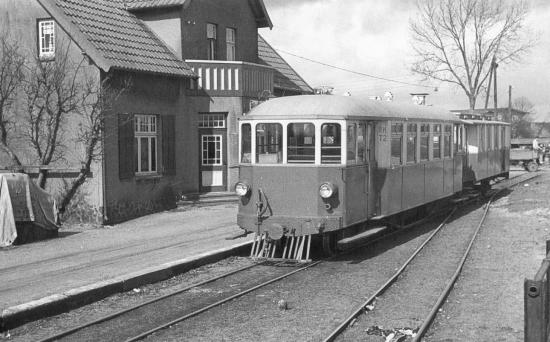 Triebwagen Nr. 2 1954