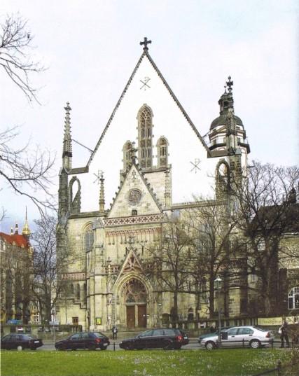 Thomaskirche, Westseite