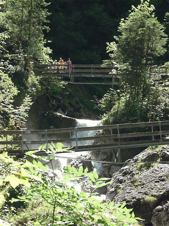 Brücken über die Alvier