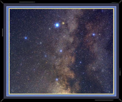 Bild vom Stern Theta Aquilae