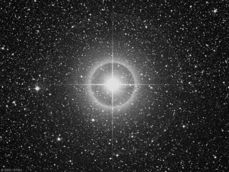 Bild vom Stern Deneb el Okab Australis