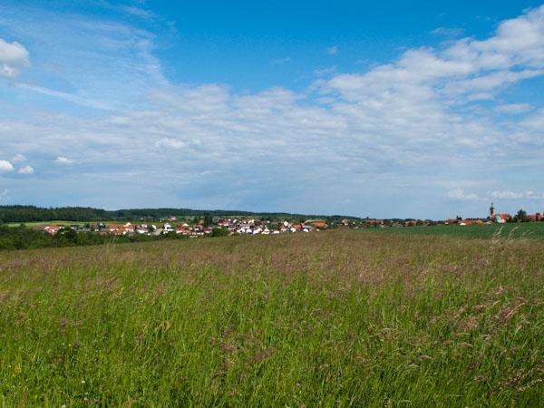 Ausblick auf Strümpfelbrunn