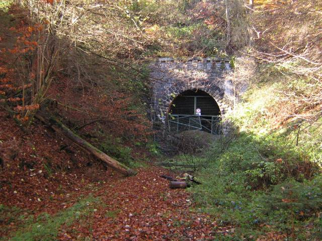 Das Ostportal des Finkenberg Tunnels