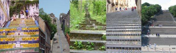 Berühmte Treppen