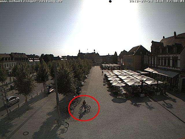 Webcam Schlossplatz Schwetzingen