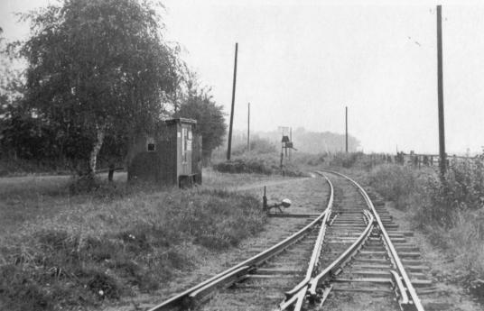 Haltestelle Richtung Luhnstedt