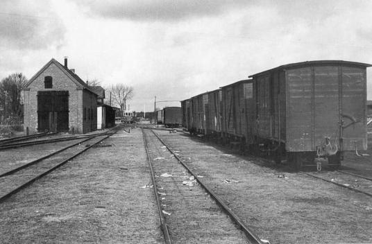 Gütergleis 1954