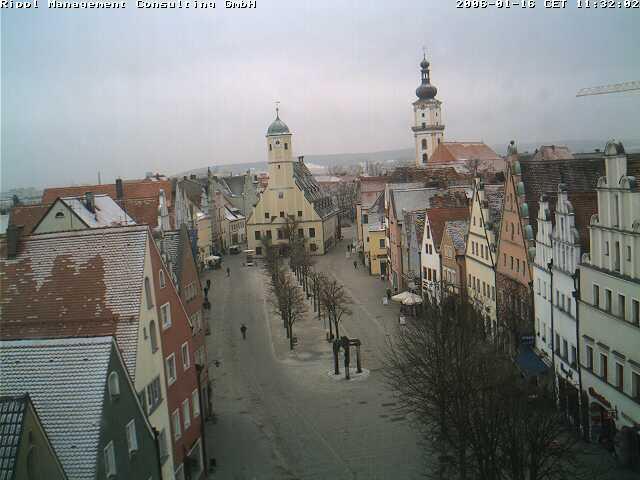 Aufnahme der gesuchten Webcam