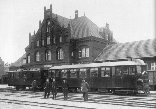 Bahnhof 1925