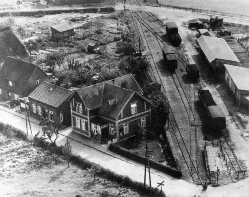 Güteranlage damals