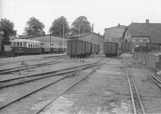 Gleisanlage 1956