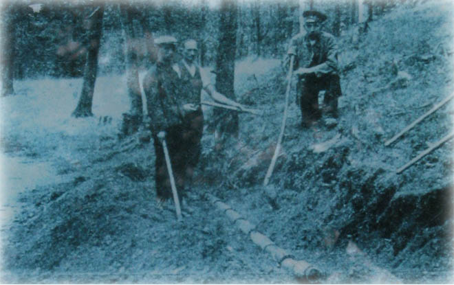 Hier sollte ein Bild zu sehen sein! (historische Wasserleitung 660x415)