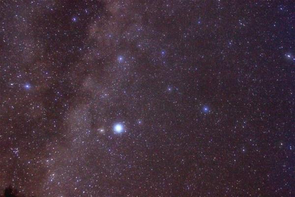 Bild vom Stern Altair