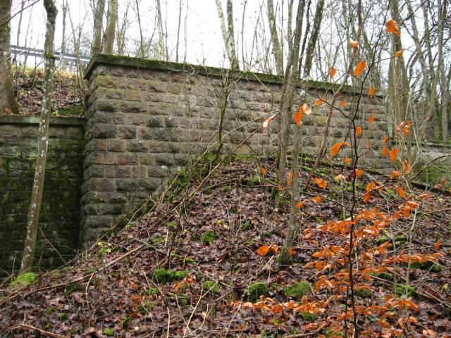Das zugeschüttete Ostportal des Blankenheimer Tunnels