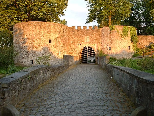 Unbekannte Burg