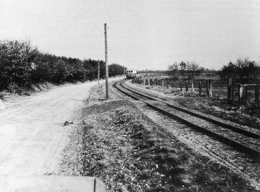 Haltestelle 1957