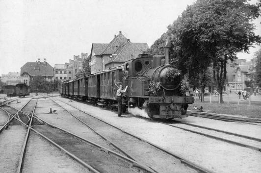 Bahnhof 1952