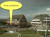 Webcam Baltrum Dorfplatz (Beispiel)