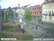 Trollmond an der Webcam
