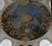 Deckenfresko / Fresco of the ceiling